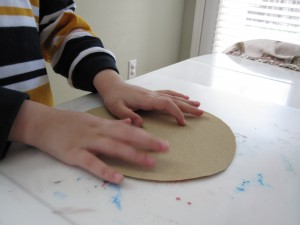 sandpaper sun craft