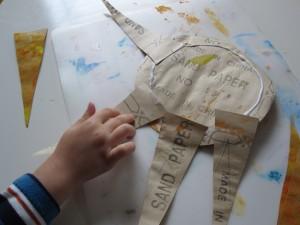 sandpaper sun craft