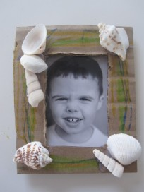 Beach Shells Kids Craft