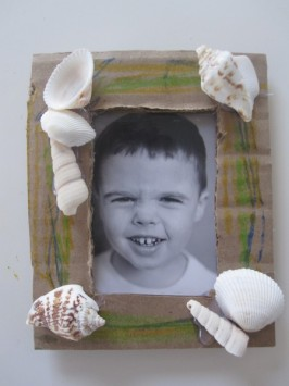 Beach Shells Kids Craft