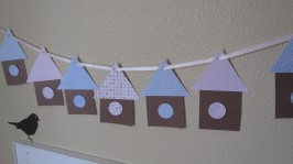 Bird House Garland