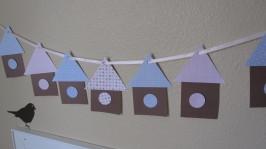 Bird House Garland