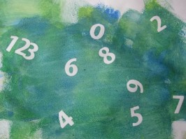 Paint and Peel Math Craft