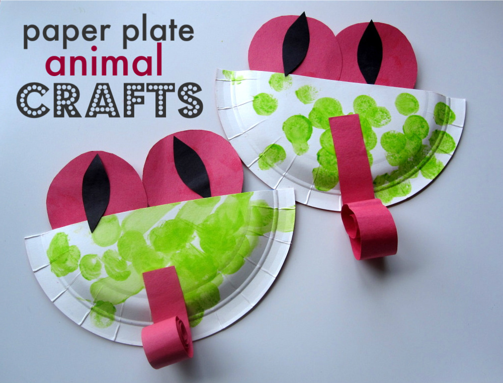 Paper Plate Animal Crafts No Time For Flash Cards