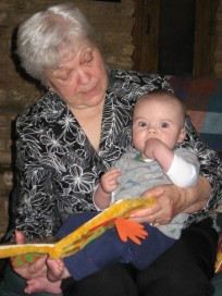 Never too young or old to read a picture book!