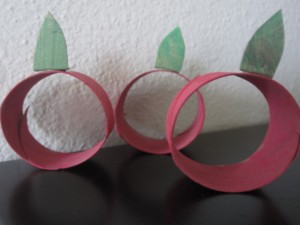 recycle apple craft for kids
