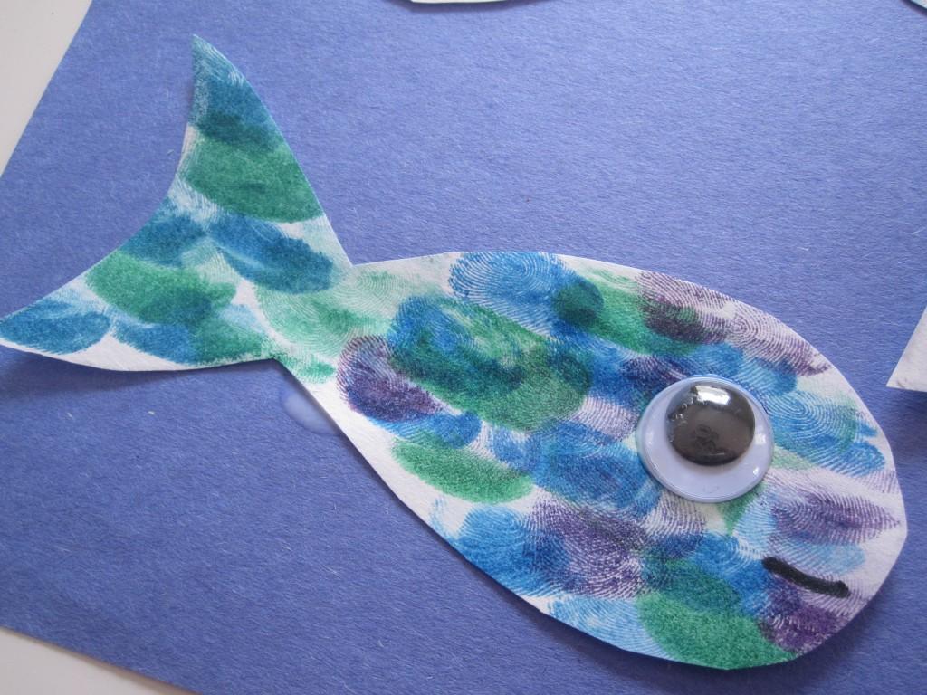 thumb print fish