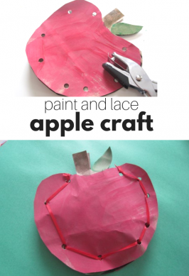 Back To School Kids Apple Craft