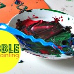 Bubble Wand Painting