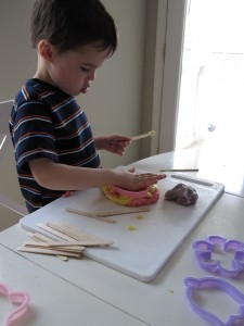 Play-Dough Activities