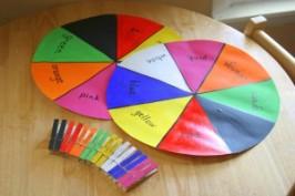 Color Wheel Match!