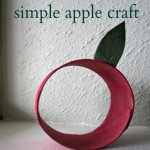 Recycled Apple Craft