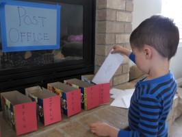 Post Office Letter Sorting