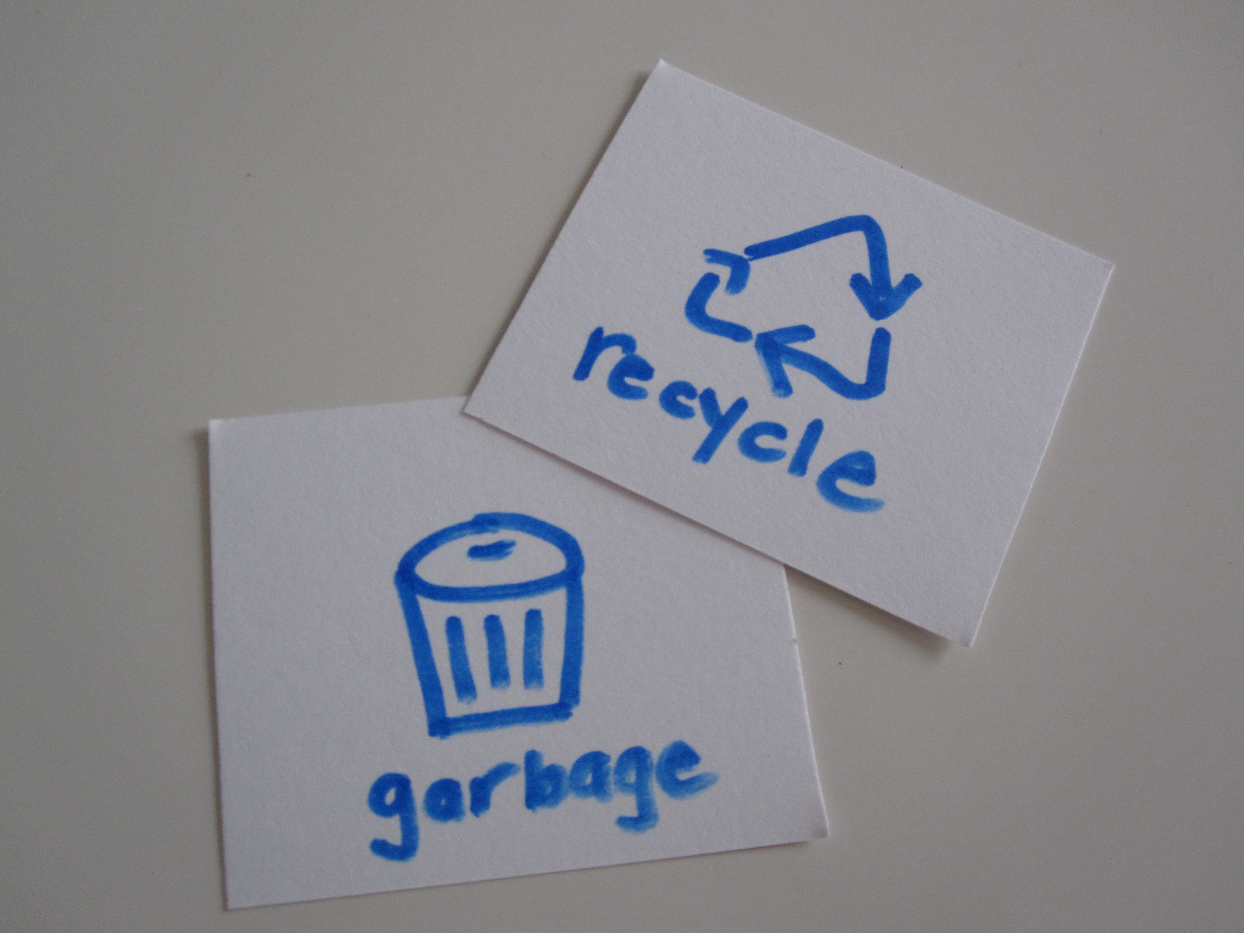 Cool Recycling Drawings Make Simple Recycle And