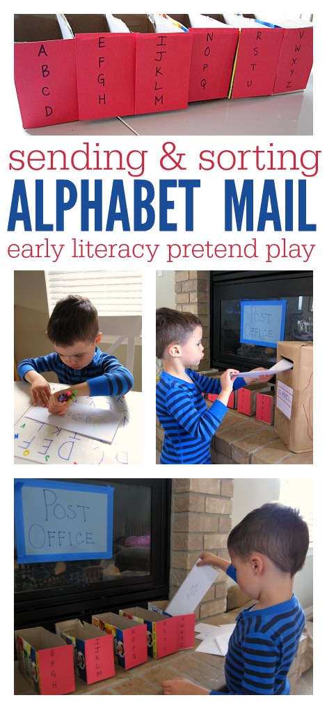 Alphabet Mail Activity for Kids | 123 Homeschool 4 Me