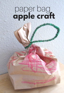 Apples For Teachers – Paper Bag Apples