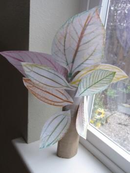 Leaf Rubbing Tree