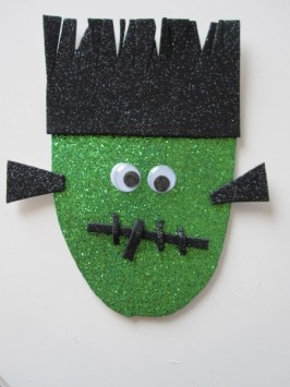 Frankenstein Halloween Craft