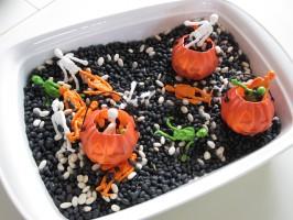 Spooky Halloween Sensory Tub