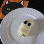Frozen Banana Ghost Treats