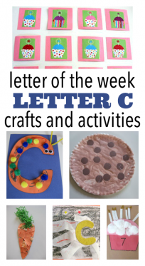 letter c letter of the week