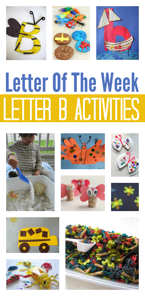 Letter The Week Letter B Theme No Time For Flash Cards