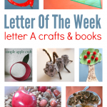 Letter of The Week – Letter A Theme!