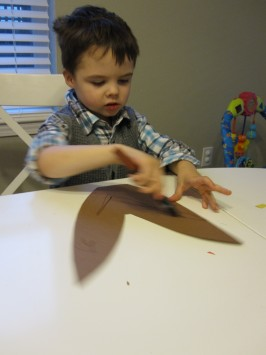 Cut and Paste Thanksgiving Craft