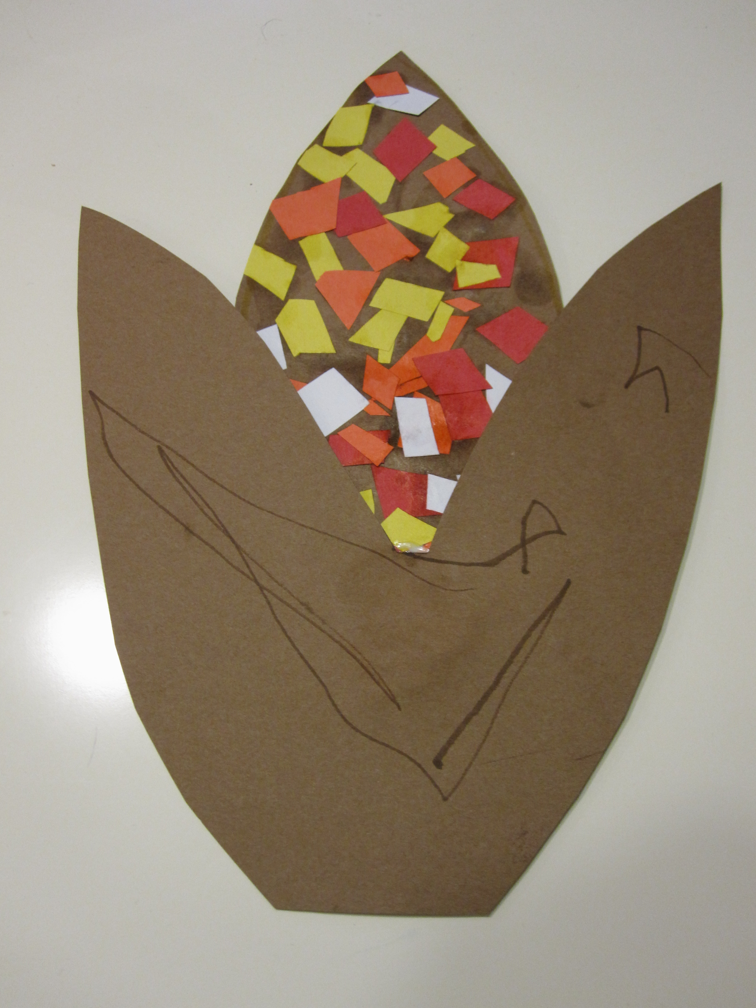 cut and paste thanksgiving craft no time for flash cards