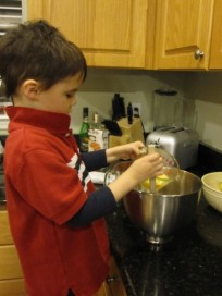 Cooking Latkes