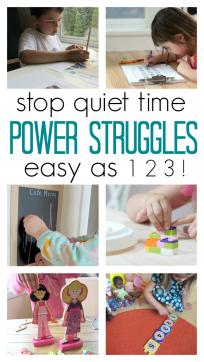 quiet time tip for parents