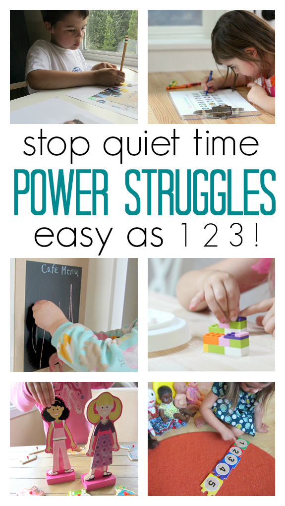 quiet time tip for parents