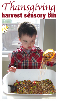 thanksgiving sensory play