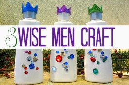 shampoo bottle 3 wise men craft