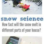 Snow Science Experiment for Kids