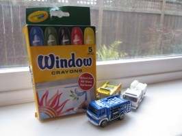 Crayola Window Crayons Craft