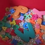 Alphabet Sensory Tub