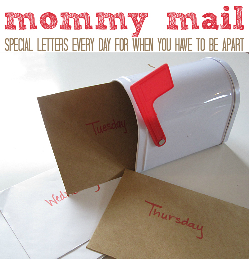 mommy mail letter activity for kids