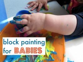 Baby Block Painting