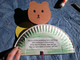 Groundhog day books and crafts no time for flash cards for Groundhog day crafts for preschoolers