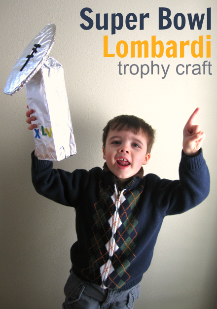 superbowl craft for kids