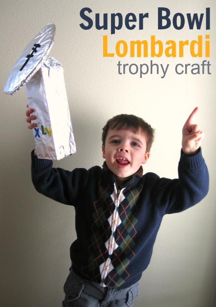 superbowl craft for kids