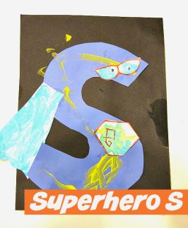 Letter of the Week – Superhero S