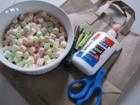 Marshmallow St. Patrick's Craft