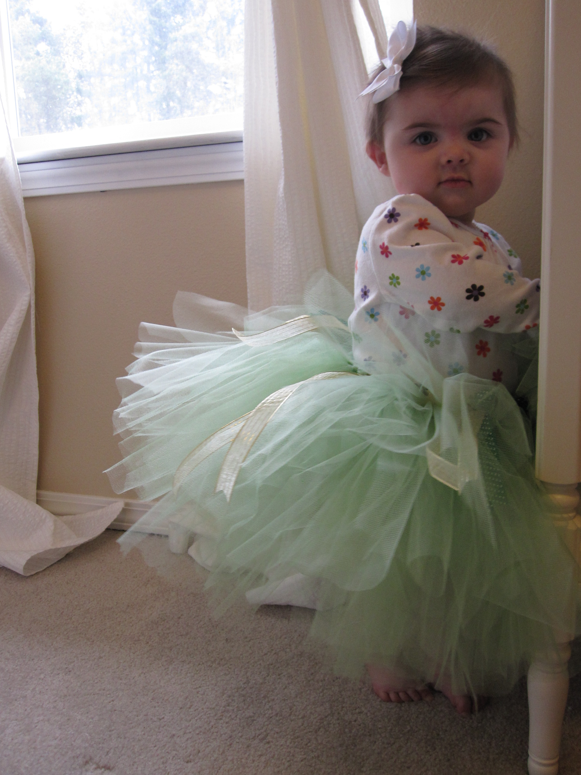 Baby Dress Up Easy No Sew Tutu No Time For Flash Cards