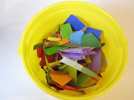 Trash Rainbow Craft and Preschool Activity