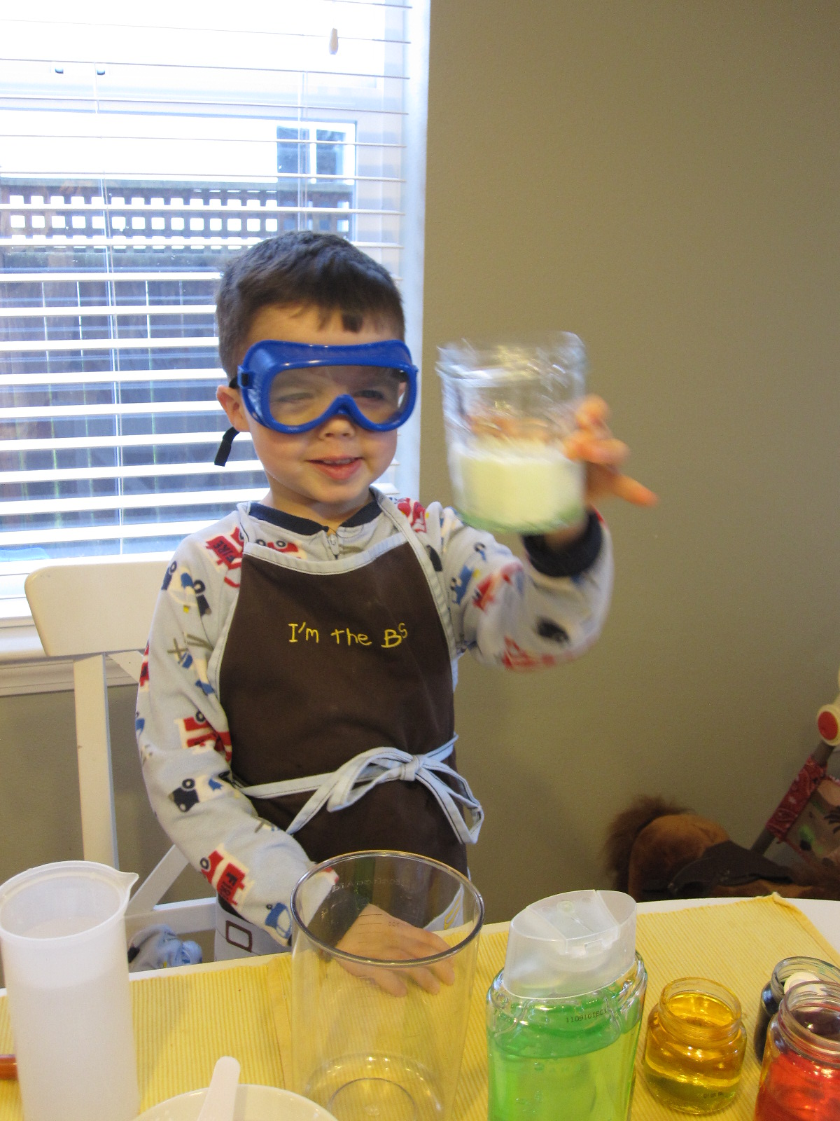 Preschool Pretend Play Scientist