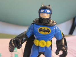 Batman at the doctor's office