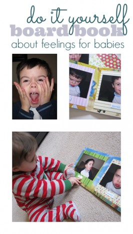 DIY Board Book About Feelings