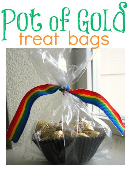 pot of gold treat bags